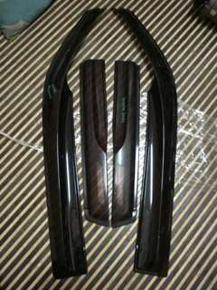 Door Visor Jazz Gd 1 Gd 2 Gd3