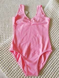 Children pink ballet leotard