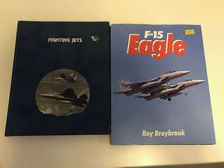 F-15 Eagle and Fighting Jets Books