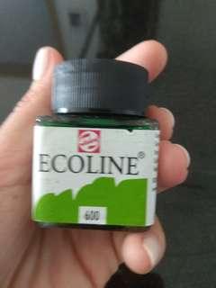 Green ink 30ml
