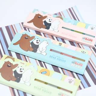 Bare Bears Stick Label Post-its