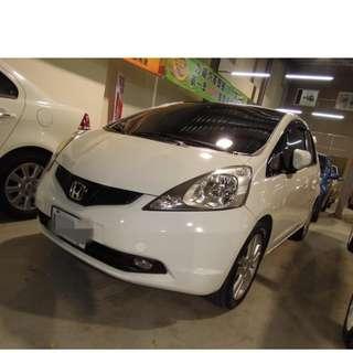 2011年FIT 白色DVD    大桃園優質二手中古車買賣