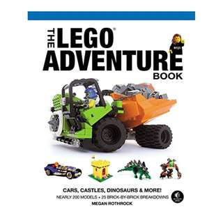 The LEGO Adventure Book, Vol. 1: Cars, Castles, Dinosaurs and More! [Print Replica] by Megan H. Rothrock (Author)