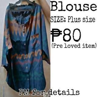 Blouse (plus size)