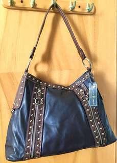 Mercer & Madison Shoulder Handbag 大容量女裝手袋(棕色)全新