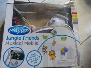 Musical Mobile for Crib