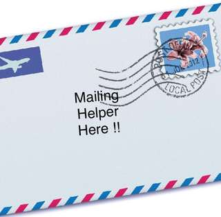 Mailing Helper Here !!