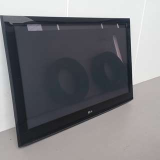 42 inches Plasma TV - Used, with wall mount brackets and NO STANDS