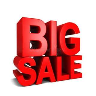 Big Sale! Repriced Items!