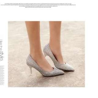 Silver Heels (Wedding)