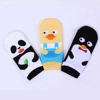 Panda Lips Socks Ggorangnae from Korea