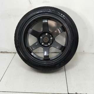 16 '' Sports Rim With Tyre 5x100 (SR1052)