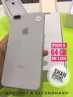 iphone 8plus 64gb (Turbo Sim)