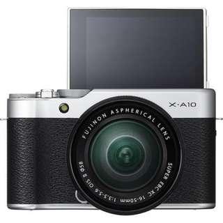 Fujifilm XA10 with 16-50mm f3.5-5.6 OIS II PROMO Kredit Mudah