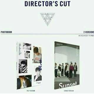 READY STOCK SEVENTEEN Director Cut
