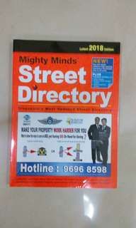 Street ditectory 2018 edition