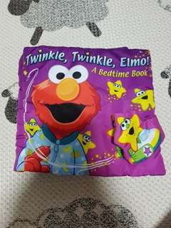 Elmo fabric book for kids