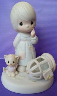 The Lord Giveth And The Lord Taketh Away Precious Moments Figurine