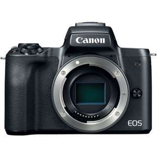 Kredit Canon EOS M50 Mirrorless Body Only (Black)