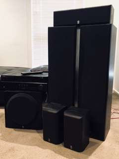 Yamaha 5.1 Home Theatre System with Amp (RX-V367)