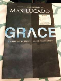 Christian book - Grace by Max Lucado
