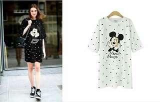 Mickey Mouse Dress, cotton type (On hand)