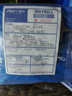 Sold via shipping