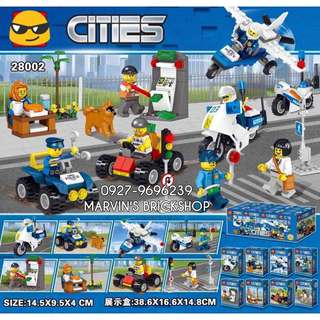 Latest Cities 8in1 Minifigures LELE 28002
