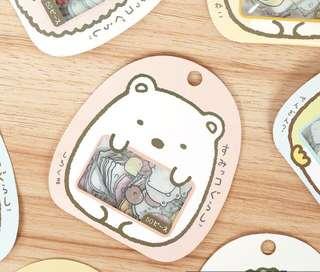 50 pcs of Sumikko Gurashi Loose Sticker Pack