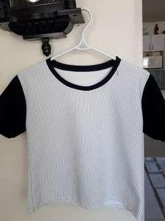 Baseball type shirt