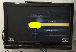 "Konka 26"" LCDTV KDL26JS69 (內置高清) 連可活動掛牆架"
