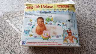 Inflatable infant tub