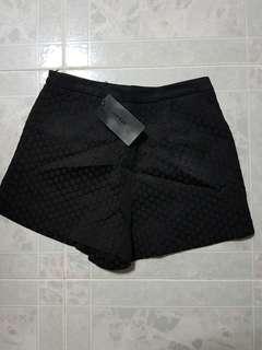 Korea Ladies Fashion Black shorts