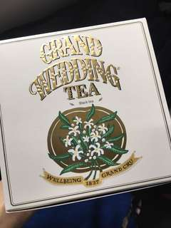 Twg Grand Wedding Tea with package