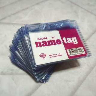 Plastic Card Holder / Lanyard Card Holder