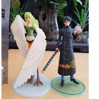 Monet and Trafalgar Law One piece Figure