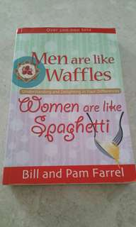Men are like waffle, women are like spaghetti