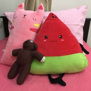 Soft Toys and Pillows