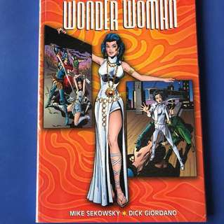 Wonder Woman Diana prince vol 3