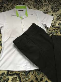 Blessing Pre Loved ITE Boy Shirt & Pant Size S