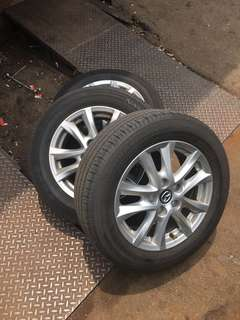 Mazda 3 GL rim with tyre
