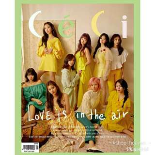 CÉCI MAGAZINE X TWICE - MAY 2018 EDITION