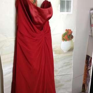 BN Formal red dress