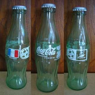 Coke Glass Bottle France 98