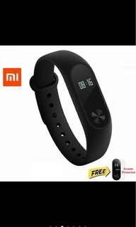 [SALE] Xiaomi Mi Band 2 Free 2 screen protectors