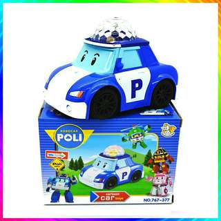 *FREE DELIVERY to WM only / Ready stock* Kids toy car Poli each as shown design/color. Free delivery is applied for this item.