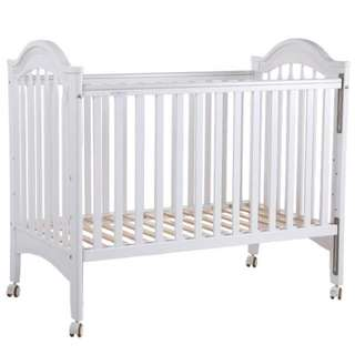 Baby cot with mattress bed