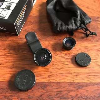 Lensa Fisheye Clip