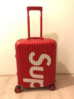 [全球斷貨系列]Supreme x Rimowa Red 45L