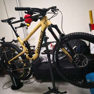 "Mtb Santa Cruz Nomad protection film ""not selling the bike"""